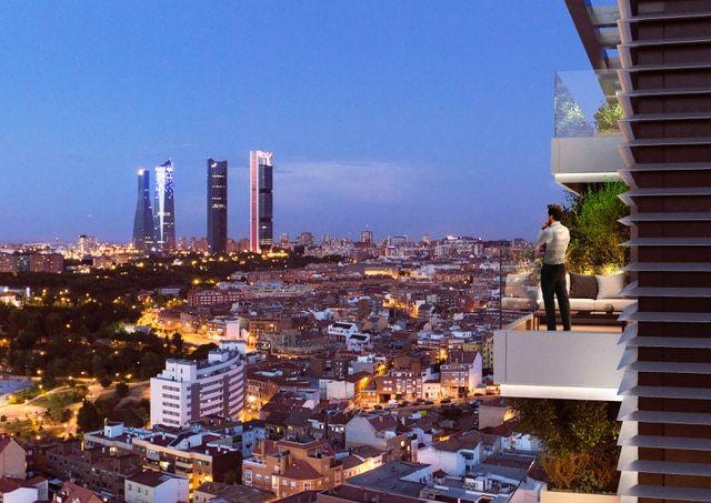 Skyline Madrid