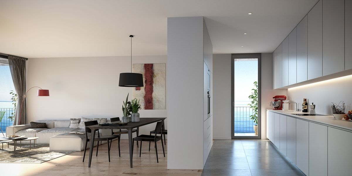 Open Concept Stoneweg Living